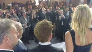 Maria Sharapova and Patrick Young present the Porsche Macan