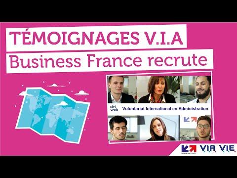 Business France recrute des V.I.A (Volontariat International en Administration)
