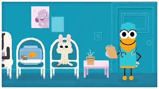 """""""veterinarian,"""" Songs About Professions By Storybots"""