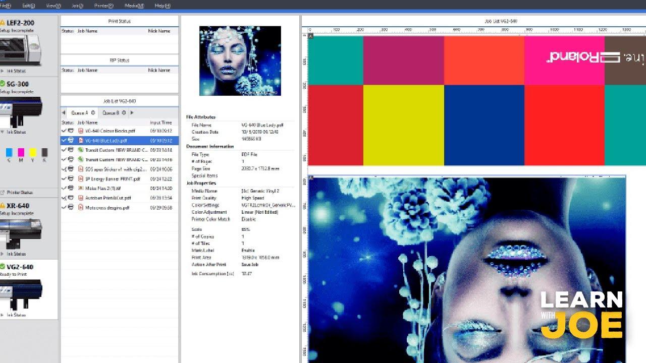 Print Smarter - Workflow Improvements   Roland DG Academy