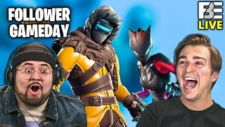 JACK FINALLY DOES A BACKFLIP!! | Fortnite | Follower Game Day