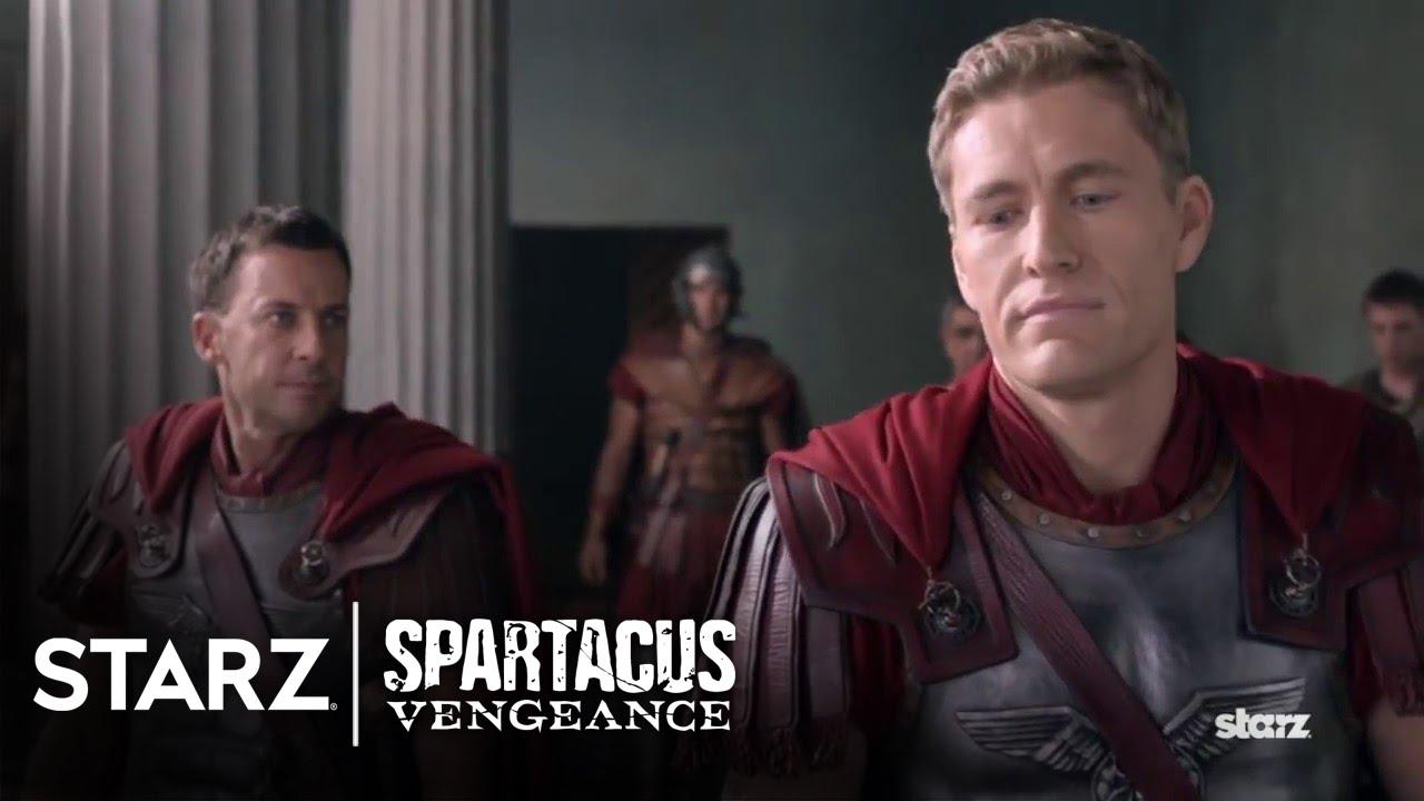 Download Spartacus: Vengeance   Episode 9 Clip: Return To Rome Immediately   STARZ