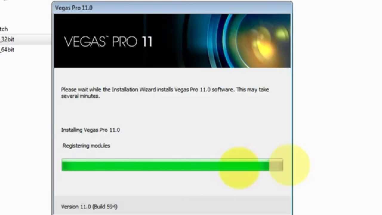 Sony vega pro 11 32bit 64 bit