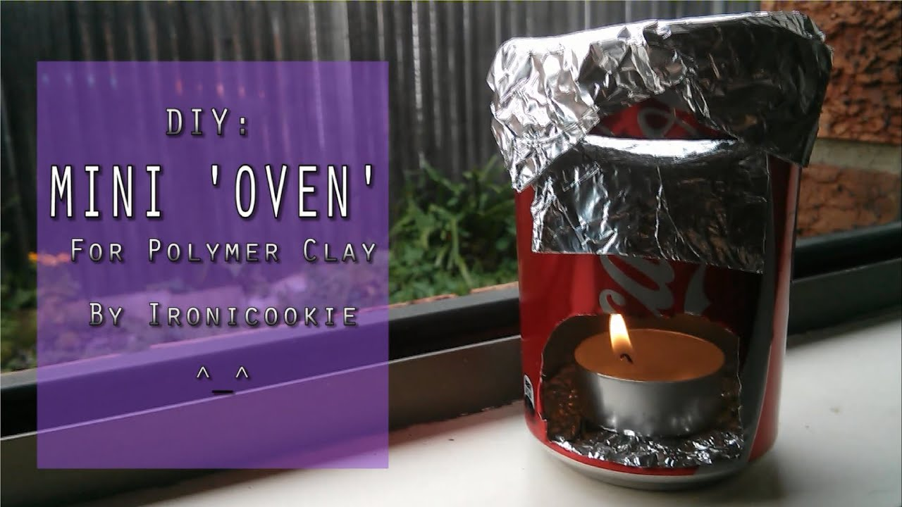 Diy Mini Oven For Polymer Clay Youtube