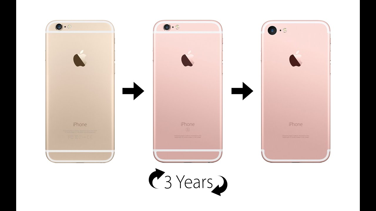 Why The iPhone 7 Will Look The Same - Apple۪s New 3 Year Plan