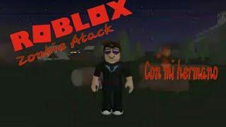 Roblox Zombie Attack con mi hermano Lio