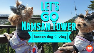 Let's go Namsan tower!!♡ 코리아 요…
