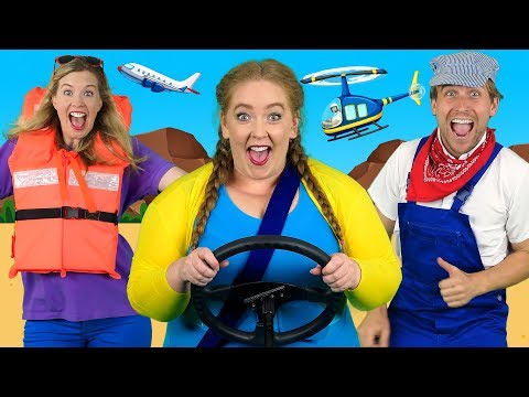 """Alphabet Transport"" - ABC Transportation Song for Kids 