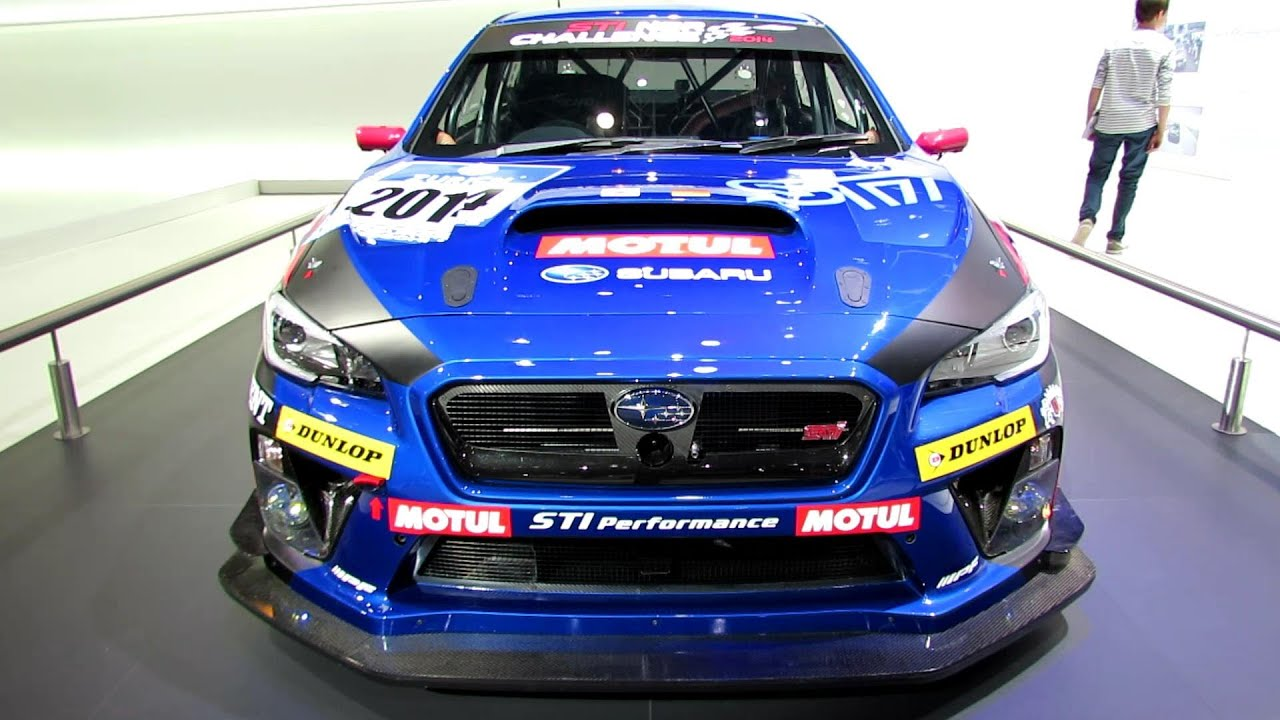 2017 Subaru Wrx Sti Racing Car Nurburgring Challenge Ext Walkaround Geneva Moto Show You