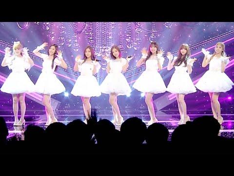 《DREAMLIKE》 Lovelyz(러블리즈) - Destiny (나의 지구) @인기가요 Inkigayo 20160619