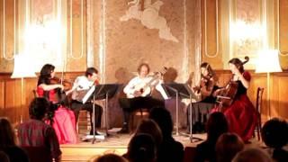 """L. Boccherini: Guitar-Quintet No. 1, IV. Allegro assai - """"Boccherini Ensemble"""""""