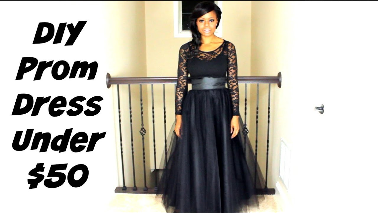 DIY Prom Dress for under $50 | Prom Series | MariaAntoinetteTV - YouTube