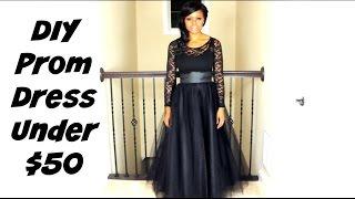 DIY Prom Dress for under $50 | Prom Series | MariaAntoinetteTV