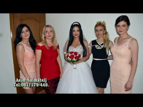 Svadba Medina i Alija Ale Nurkić 1 Dio HD  07 09 2016 D LUKAVICA  Asim Snimatelj Tel 061 179 449