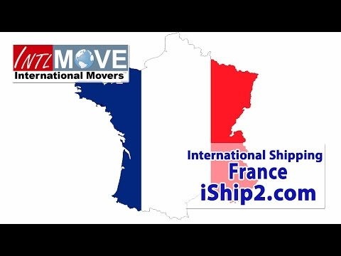 moving to France shipping company USA to France moving