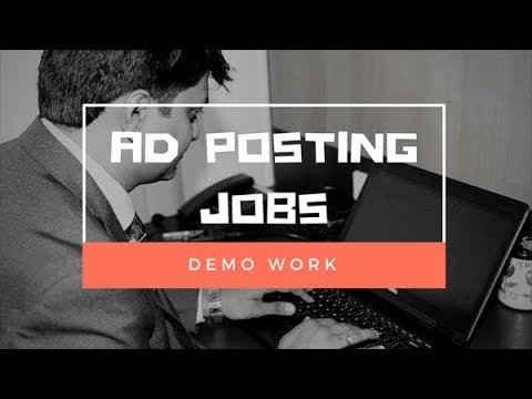 CYBER EXPO Ad Posting Jobs Demo Work and Payment Proof