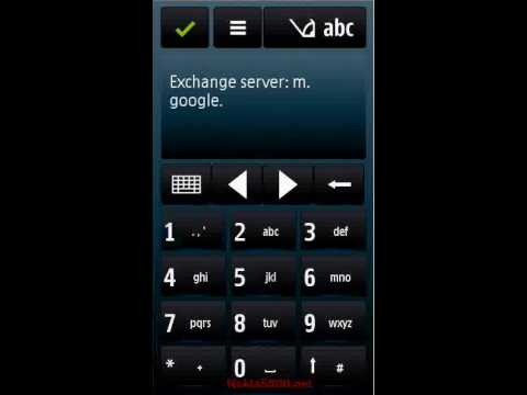 Nokia5800.net - Gmail Supporting Email, Calendar, Contacts Sync And Email Push Via Mail For Exchange