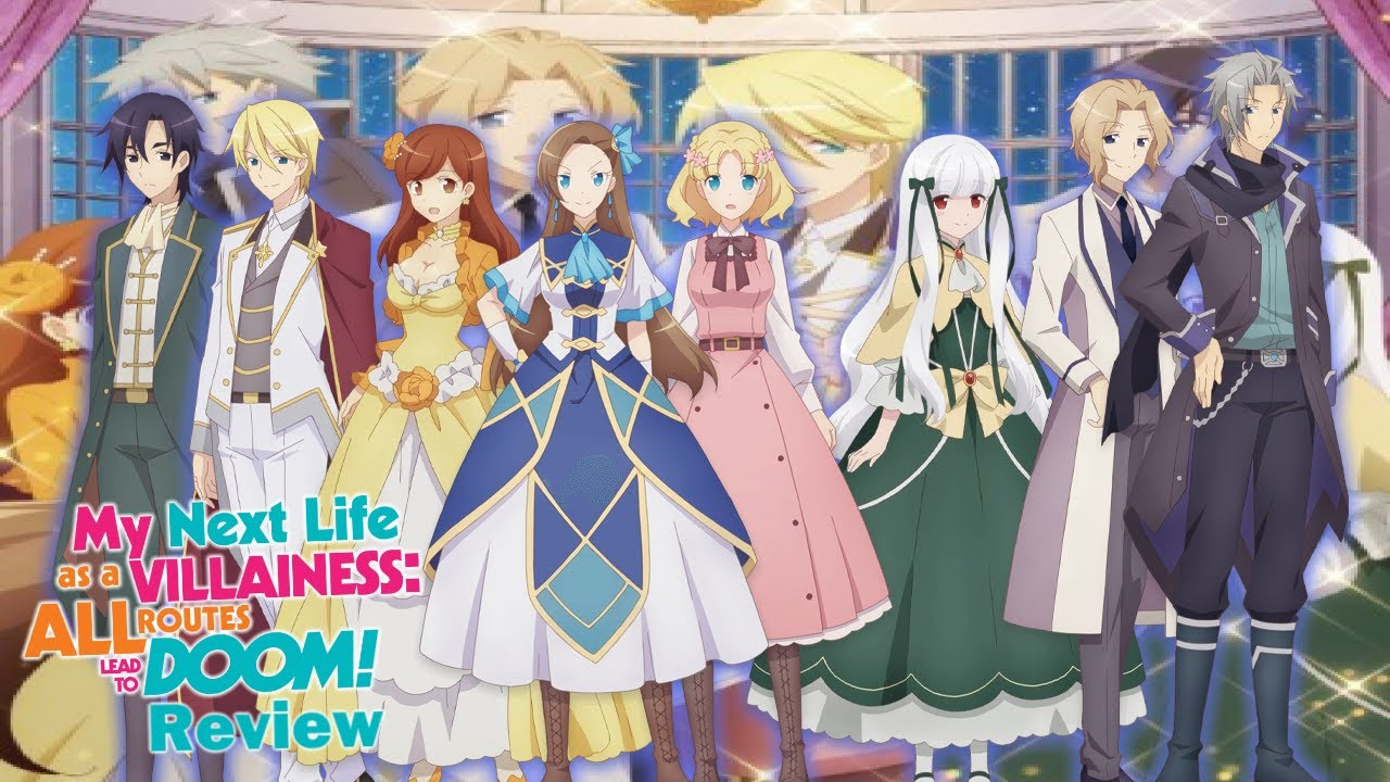 My Next Life as a Villainess Comedic Fun Anime Review   YouTube
