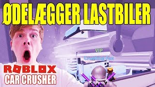 DESTROYS TRUCKS AND BUSES-CAR CRUSHER 2-ENGLISH ROBLOX-[#5]