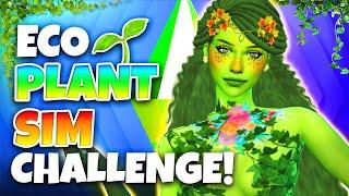 Eco Lifestyle PLANT SIM CAS Challenge! 🌱 (The Sims 4)