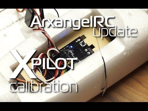 Volantex Xpilot stabilization system - calibration and setup