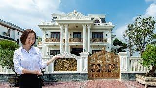 Khám Phá Không Gian Biệt Thự Kiểu Pháp Hoành Tráng Đẳng Cấp Biệt Thự Vườn Ông Hoàng - Phú Thọ