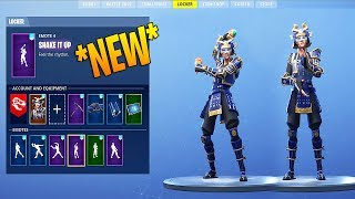 "*NEW* ""HIME"" SKIN SHOWCASE WITH FORTNITE LEAKED DANCES & EMOTES!"
