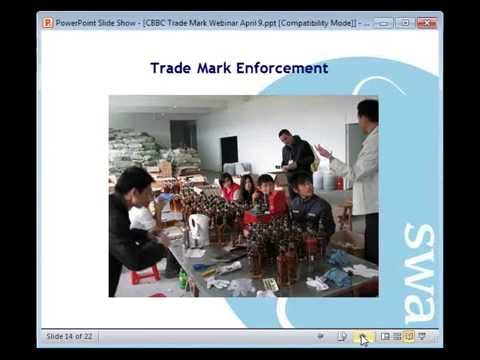Trade marks in China -- CBBC Webinar Series #1 for General Business