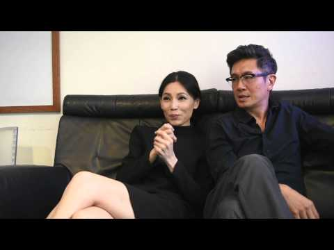 Adrian Pang, Sharon Au on LKY Musical