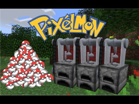 Pixelmon Craft Guide Mechanical Anvil Youtube