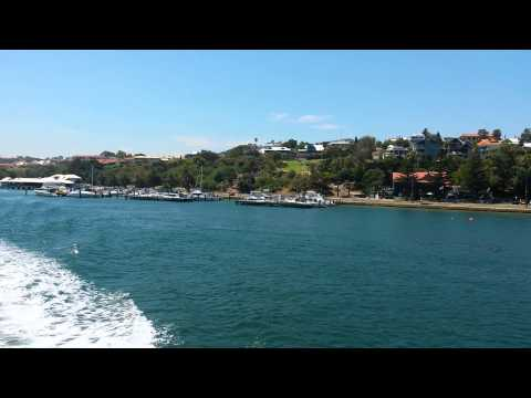 Perth To Fremantle Boat Trip Australia #2 G9