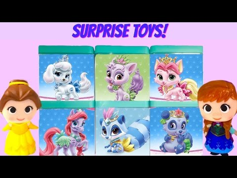 Disney Princesses Palace Pets Blind Boxes Toy Surprise Game