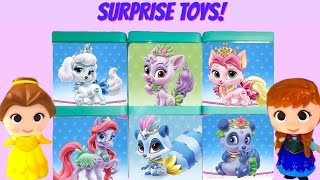 Disney Princesses Palace Pets Blind Boxes Toy Surprise Game! Whisker Haven, Cinderella, Ariel, Tiana