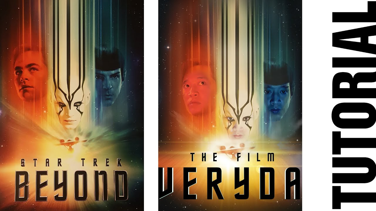 Star Trek Beyond Poster Tutorial