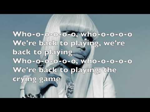 Nicki Minaj ft Jessie Ware - The crying game lyrics (official audio)