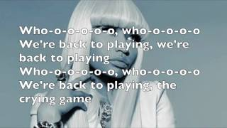 Video Nicki Minaj ft Jessie Ware - The crying game lyrics (official audio) download MP3, 3GP, MP4, WEBM, AVI, FLV April 2018