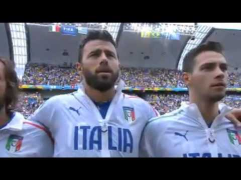 Italy National Anthem | World Cup 2014 | Italy vs. Uruguay