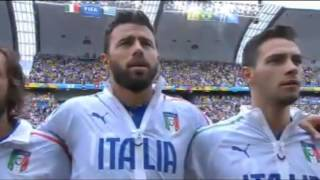 Italy National Anthem | World Cup 2014 | Italy vs. Uruguay