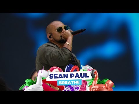 Sean Paul - 'Breathe' (live at Capital's Summertime Ball 2018)