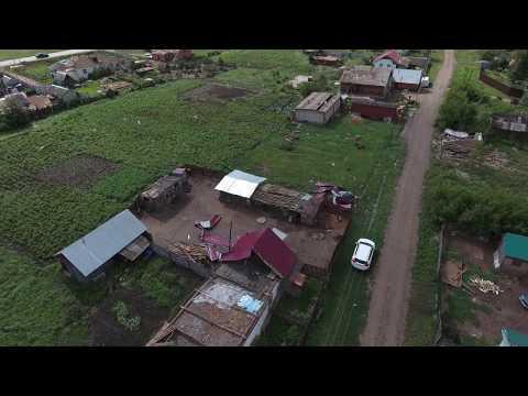 Ураган в Заглядино. Оренбургская область. Часть 1