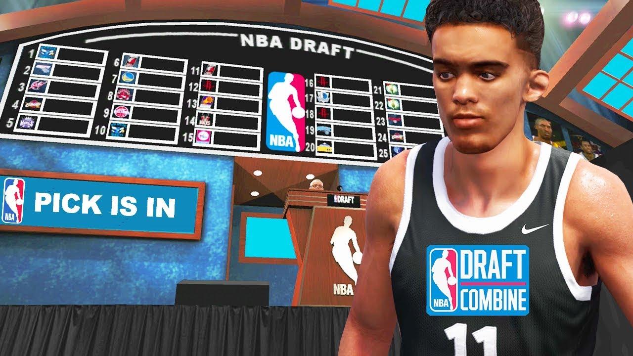 NBA 2K18 TRAE YOUNG MY CAREER : THE NBA DRAFT! CHAPTER 3