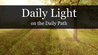 DAILY LIGHT - I John 3:5