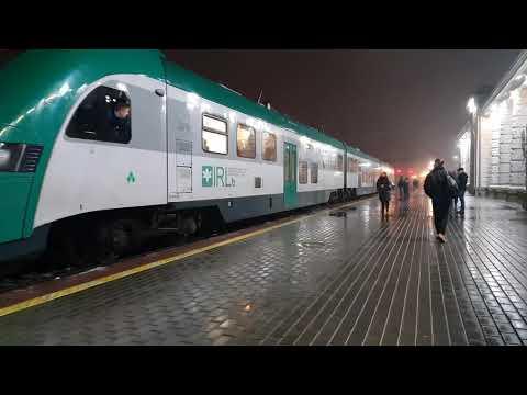 Станция Орша, отправление поезда на Могилёв