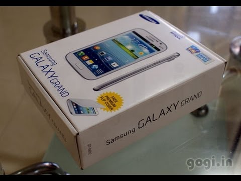 Samsung Galaxy Grand review and unboxing - dual core smartphone