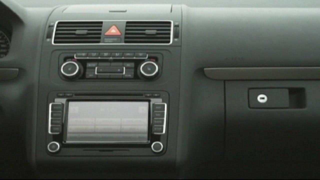 The new 2011 volkswagen touran interior youtube for Interior touran
