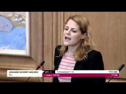Folketinget 31. maj 2011 - Pia Kjærsgaard  forsøger at forklare sig ...