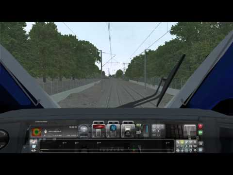 TS 2016 TGV DUPLEX CDG LILLE EUROPE via haute picardie et Arras