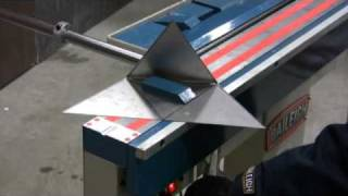 Baileigh BB-4816M Manyetik Kutu ve Pan Fren Sac Bükme Makinesi