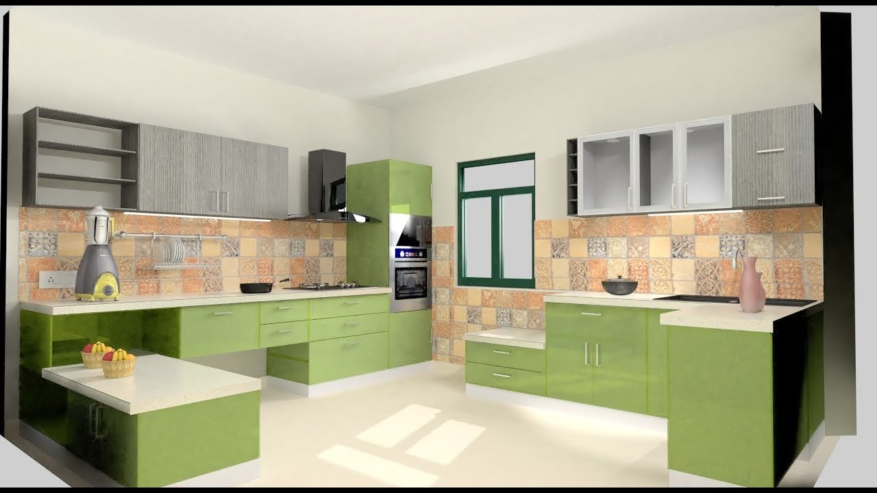 Modular Kitchen Design Example - YouTube
