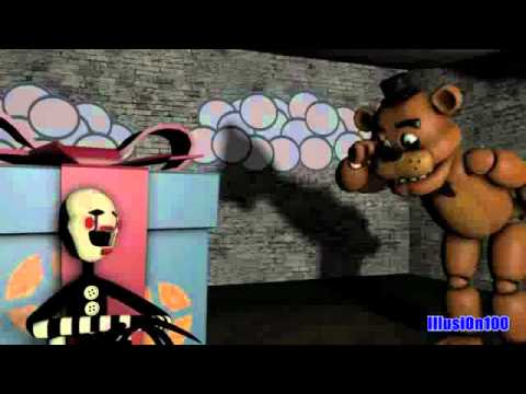 SFM Puppet hear his  Box  Five Nights at Freddy´s FNAF